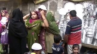 インド ニザムウッディンのメインバザールを歩く  【世界を歩くあらいぎまちゃん】 Nizamuddin