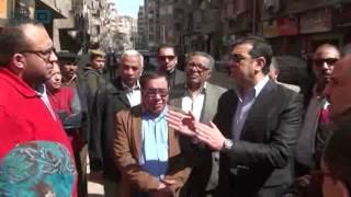 مصر العربية |  محافظ أسيوط يتفقد أعمال البنية التحتية بالشوارع والعمل بالمجمعات الإستهلاكية