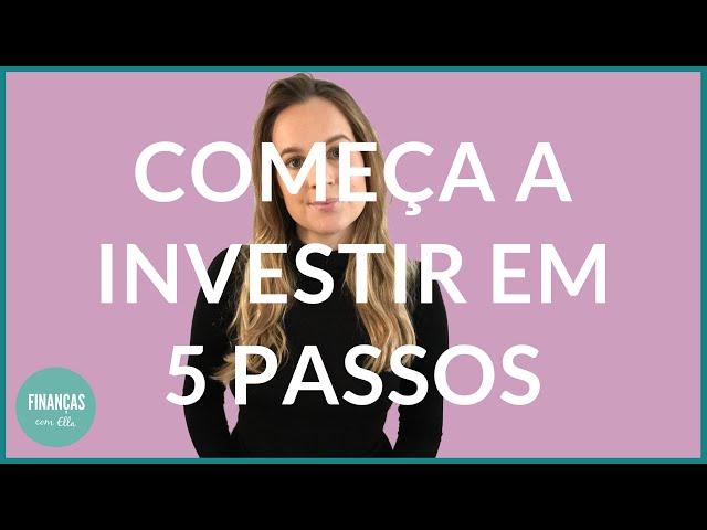 Investir para iniciantes | 5 dicas para começar