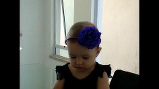 Flor de crepom para cabelo super fácil