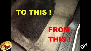 HOW To DYE ANY CARPET & FABRIC....BACK To NEW Again!