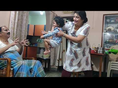 2yr Ria visit to Bangalore