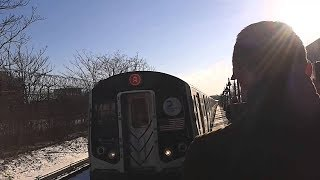 Roblox Subway Train simulator R143 A train arrives & Departs Utica ave