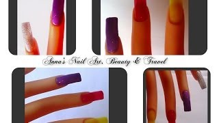 How To Make Your Own Color and Glitter Gels Tutorial