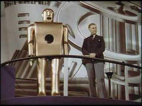 Electro the Smoking Robot at the 1939 New York World's Fair