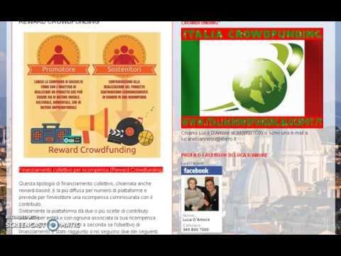 reward crowdfunding - Italia Crowdfunding