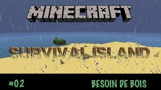 Minecraft Survival FR - Episode 2 - Besoin de Bois