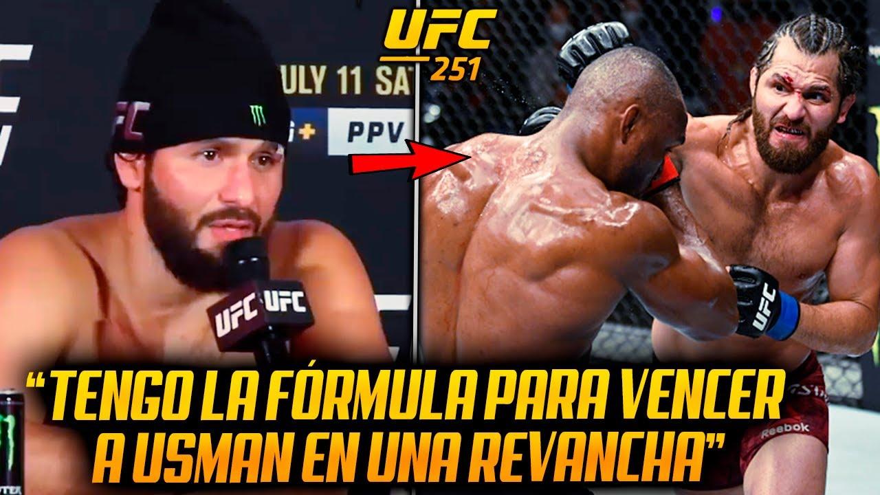 Declaraciones Post UFC 251: Masvidal SOBRE REVANCHA con Usman | Volkanovski  FELIZ por su VICTORIA