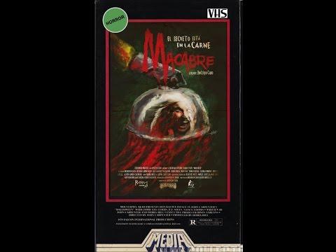 Rodrigo Caro's MACABRE (2016)- Teaser (VHS Capture)- Horror Movie (HD)