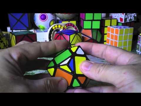 Como resolver RHOMBIC DODECAHEDRON Rubik 3x3x3 RHOMBIC DODECAHEDRON solución tutorial spanish