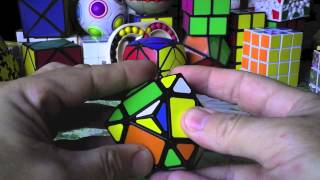 Rubik 3x3x3 RHOMBIC DODECAHEDRON solución tutorial spanish