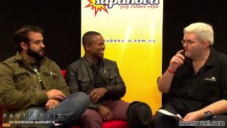 Vlog 12 Perth Supanova 2015 - Interview Austin St John and Walter Jones