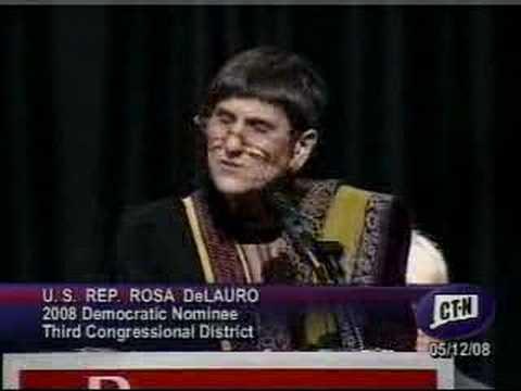 Rosa DeLauro acceptance speech