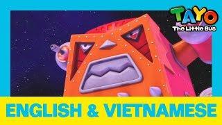 Học tiếng Anh với Tayo xe buýt bé nhỏ l HÀNH TRÌNH XUYÊN KHÔNG GIAN CỦA l Learn English + Vietnamese