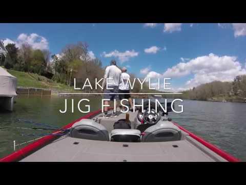 lake wylie jig fishing youtube. Black Bedroom Furniture Sets. Home Design Ideas