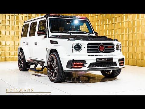 "Close Up: Mansory x Philipp Plein ""Star Trooper"" based on Mercedes-Benz G 63 (White)"
