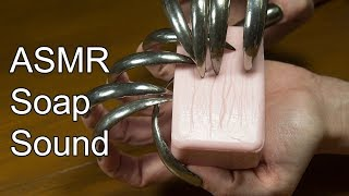 Cat asmr soap sound ASMR nail scratching tapping carving on soap relax