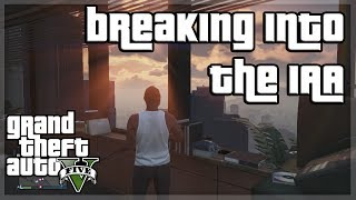 GTA V - BREAKING INTO IAA BUILDING w/ Behzinga, Miniminter, Vikkstar, Zerkaa and KSI