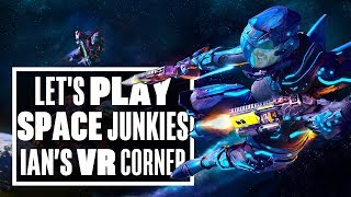 Space Junkies PSVR is great but the controls SUCK! - Ian's VR Corner