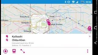 Tokyo Rail Map Lite / Free Andoird App (V1.6.1)