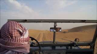 A Stunning Ride Through The Dubai Desert With Beautiful Arabic Music
