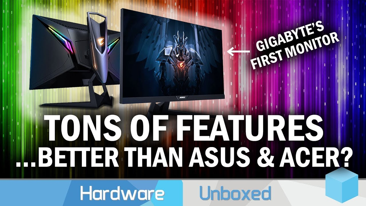 Gigabyte's First Ever Gaming Monitor, Is It Any Good? Aorus AD27QD