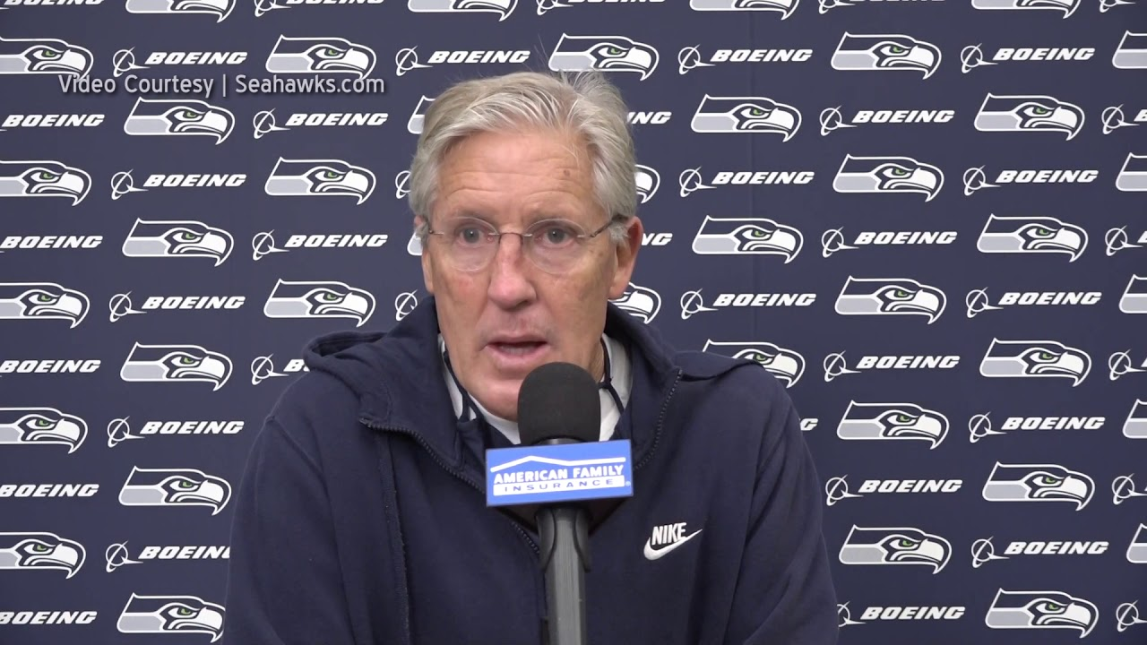 Pete Carroll on Buffalo Bills 2020-11-05