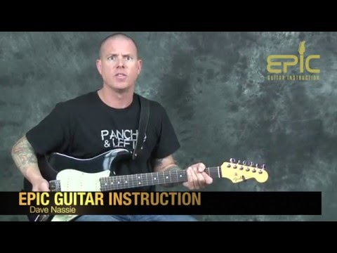 Learn Queen One Vision rock guitar song lesson with chords licks soloing techniques