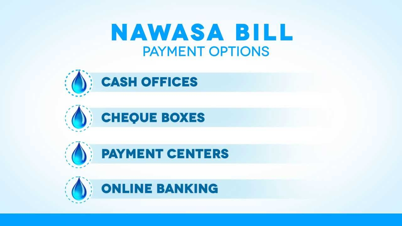 NAWASA Infographics_How to Pay Bill - YouTube