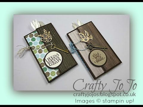 Male Mini Album with loads of pockets & tags - Tutorial -