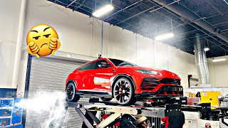 I THINK I PUT TOO MUCH OIL IN THE LAMBORGHINI URUS.... (BAD)