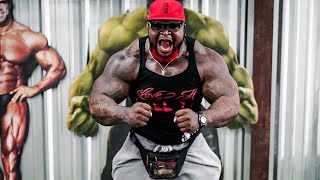 Da Real Hulk  Smashes 225LBS for 75 REPS In Dedication To The Realist Woman!