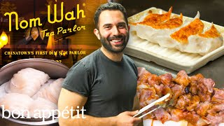 Andy Learns How to Cook Dim Sum at Nom Wah Tea Parlor  Bon Appétit