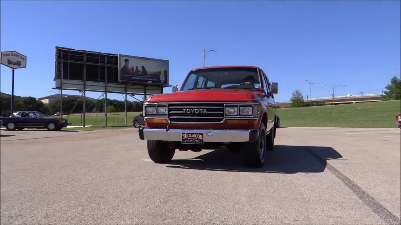 1988 Toyota Land Cruiser for sale at Texas Classic Cars Of Dallas ...