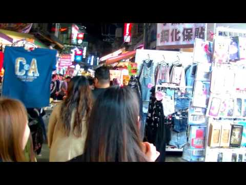 2017 [ 台灣散步行 ] = Taipei台北 = 劍潭站散步去「士林夜市」스린야시장은 Shilin Night Market 街歩き