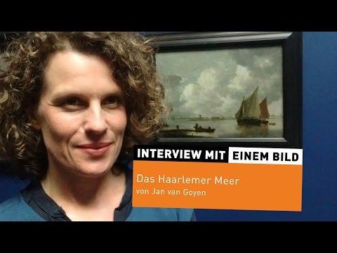 """Interview mit einem Bild #10: """"Das Haarlemer Meer"""" von Jan van Goyen"""