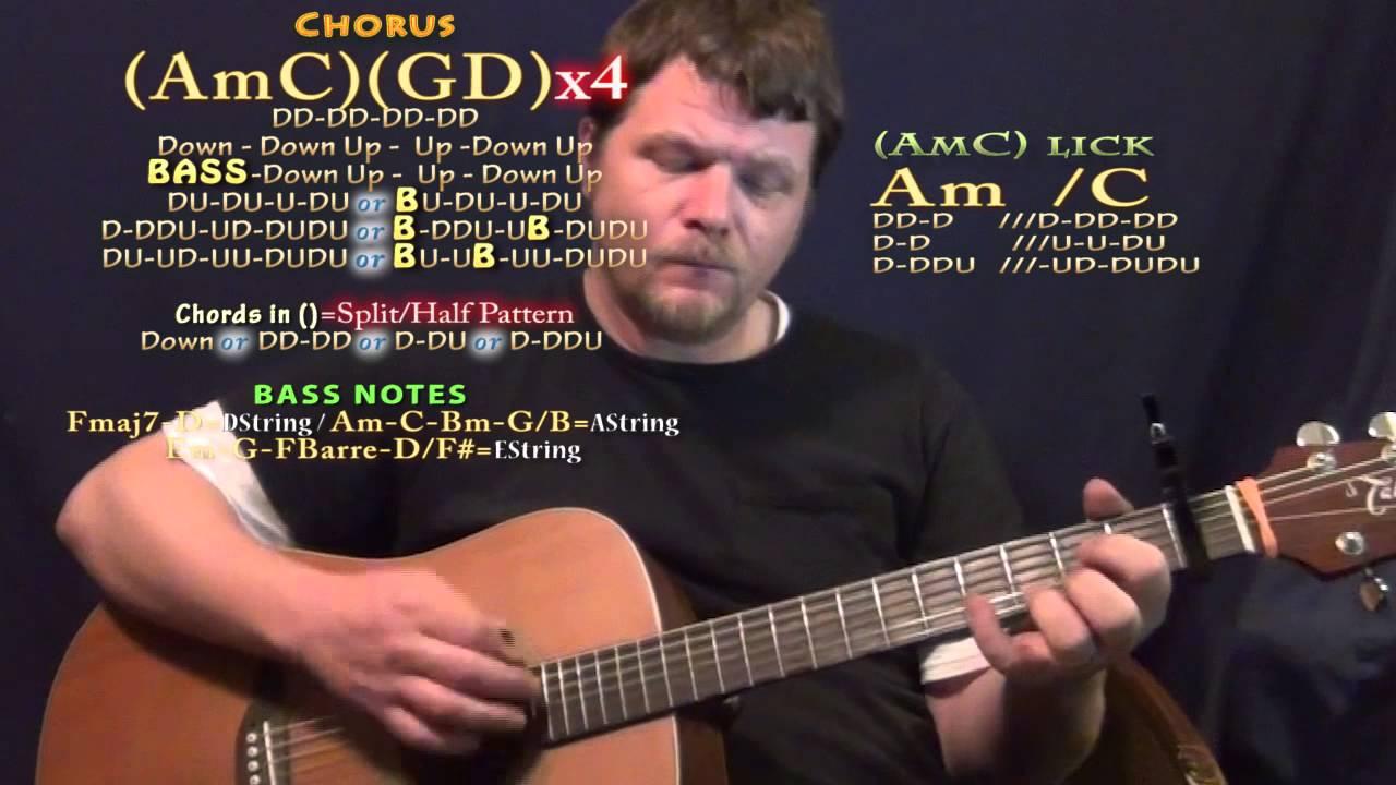 make me believe nickelback guitar lesson chord chart capo 1st fret youtube. Black Bedroom Furniture Sets. Home Design Ideas