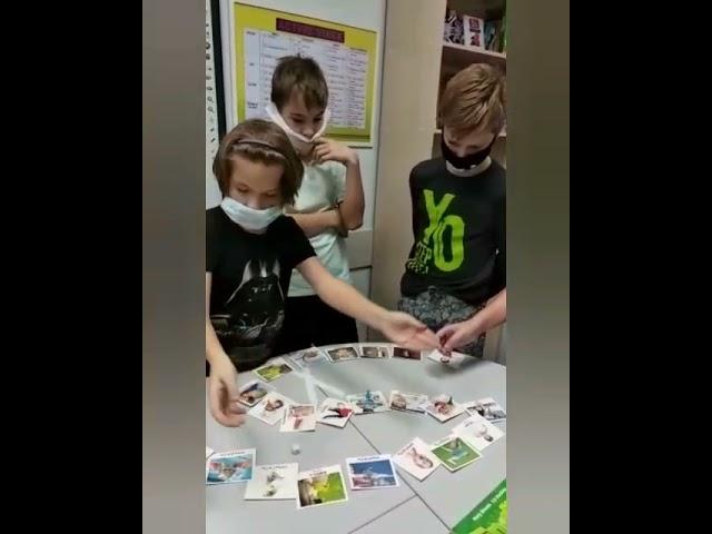 Обучающая игра на уроке английского языка