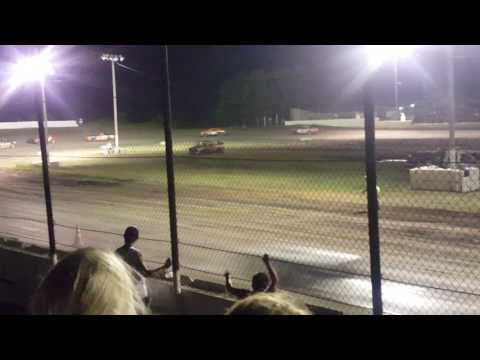 Factory Stock Feature. Caney Valley Speedway 6/10/17