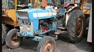 Vintage Tractors - Towy Tractors (Part One)