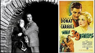 The 39 Steps 1935 - Improved Quality:  Mystery/Thriller/Suspense: With Subtitles