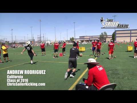 Andrew Rodriguez - Punter/Kicker
