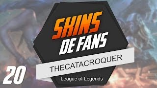TOP 10 | Skins de Fans - EP 20 - League of Legends