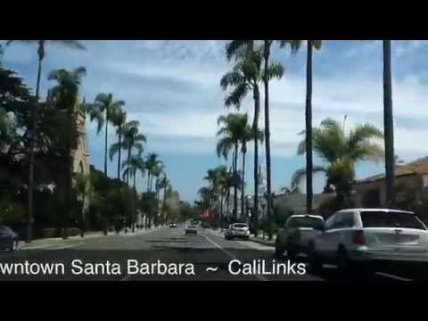 Downtown Santa Barbara - California Beach Town