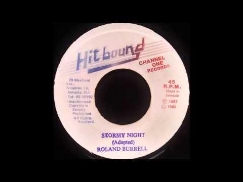 ROLAND BURRELL - Stormy Night [1982]