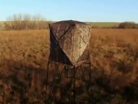 The Vertex Ground Blind And Box Blind | Big Game Treestands