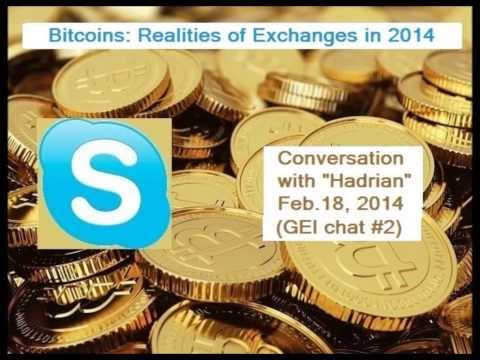 """The Reality of Crypto Exchanges"" : GEI Bitcoins Chat#2"