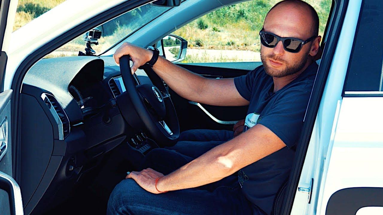 Уроки вождения SKODA KAROQ. Посадка за рулем и как правильно крутить руль   Советы Физика Движения