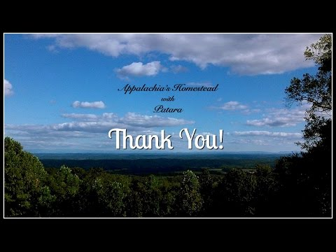 THANK YOU & 2018 for The Great Appalachian Homesteading Conference!