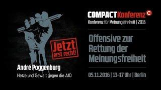 COMPACT-Konferenz 2016: André Poggenburgs Rede